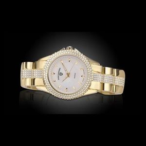 NEW! Women's Swiss Diamonds Genuine Diamond Watch